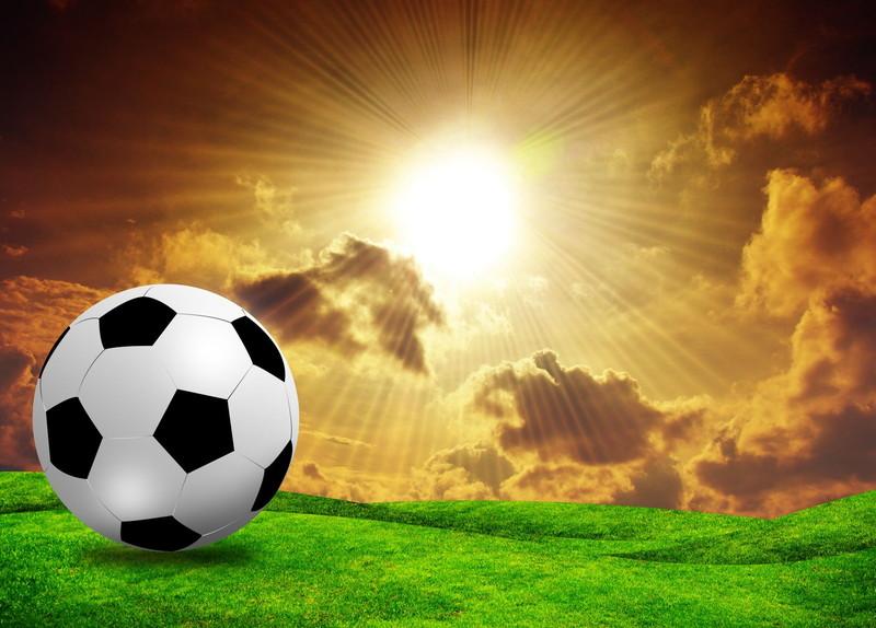 サッカー 広いフィールド